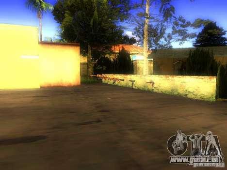 Waffen in der Grove Street für GTA San Andreas sechsten Screenshot