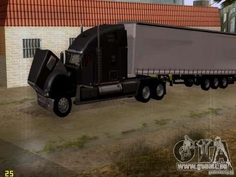 Freightliner Coronado pour GTA San Andreas vue de côté