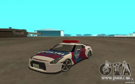 Nissan GT-R R35 Indonesia Police pour GTA San Andreas