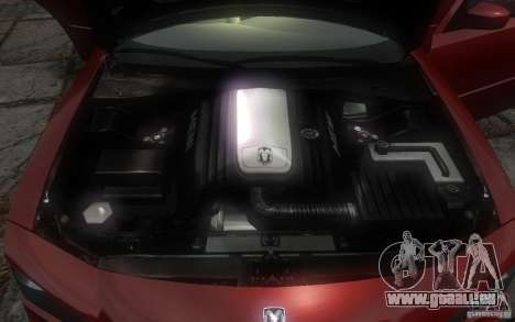 Dodge Charger RT Hemi 2008 für GTA 4-Motor