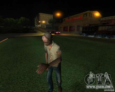 Une gare animée à San Fierro pour GTA San Andreas quatrième écran