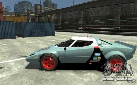 Lancia Stratos pour GTA 4 est une gauche