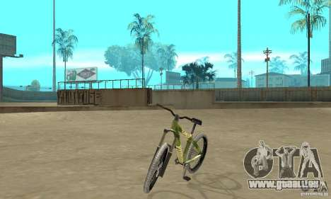 Hardy 3 Dirt Bike für GTA San Andreas
