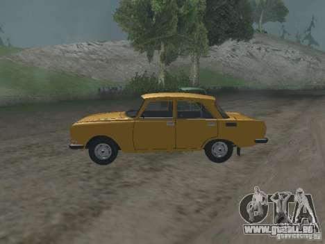 AZLK 2140 1981 pour GTA San Andreas laissé vue