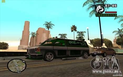 Grove Street Gang Burrito pour GTA San Andreas