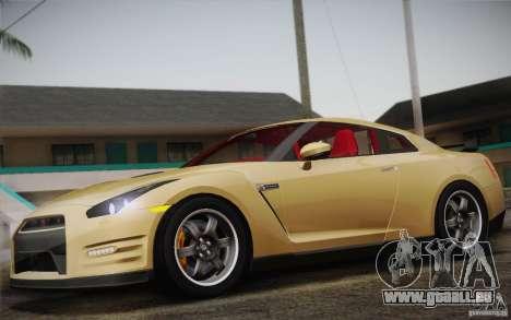 Nissan GTR Egoist pour GTA San Andreas vue arrière