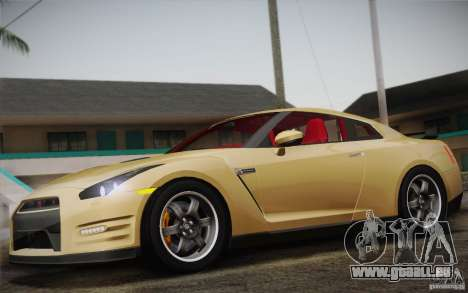 Nissan GTR Egoist für GTA San Andreas Rückansicht