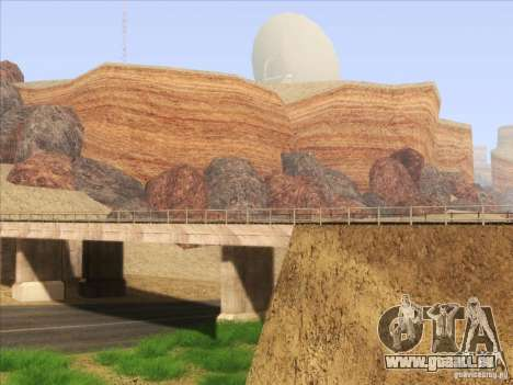 HQ Country Desert v1.3 pour GTA San Andreas