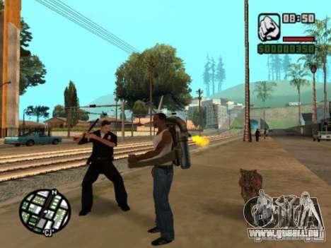 Animals in Los Santos für GTA San Andreas her Screenshot