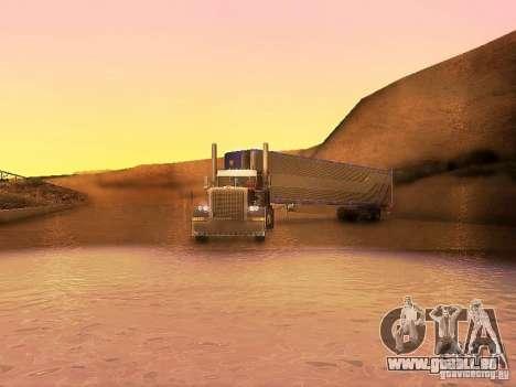 Truck Optimus Prime v2.0 pour GTA San Andreas vue intérieure
