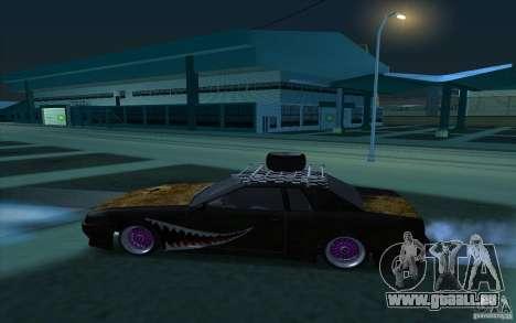 Elegy Rat by Kalpak v1 pour GTA San Andreas laissé vue