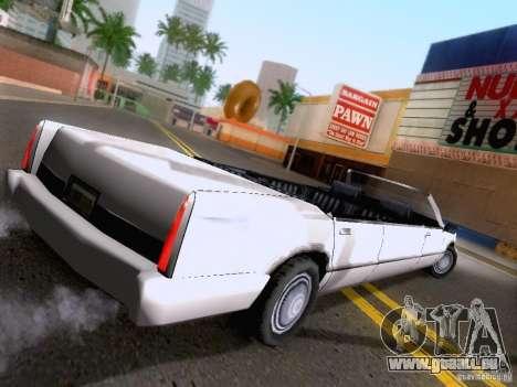 Stretch Cabrio für GTA San Andreas linke Ansicht