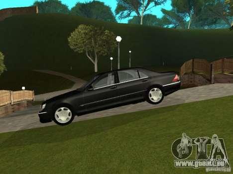 Mercedes-Benz S600 Biturbo 2003 v2 pour GTA San Andreas
