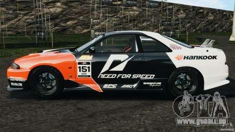 Nissan Skyline GT-R (R33) v1.0 pour GTA 4 est une gauche