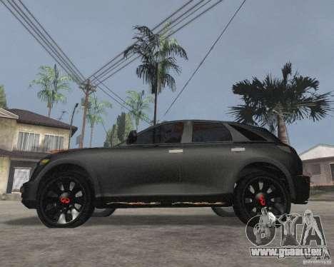 Infiniti FX35 für GTA San Andreas linke Ansicht