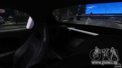 Mazda RX-7 FnF pour GTA 4 est une vue de l'intérieur