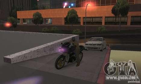 Lila Leuchten für GTA San Andreas her Screenshot