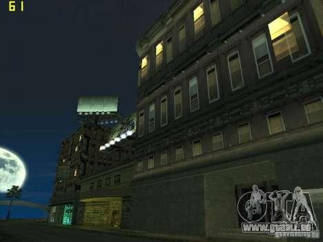 GTA SA IV Los Santos Re-Textured Ciy pour GTA San Andreas deuxième écran