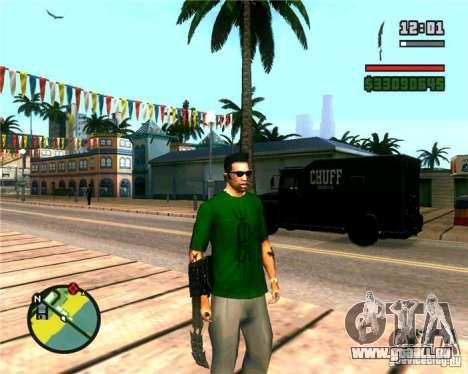 Die Krallen ein Raubtier für GTA San Andreas her Screenshot