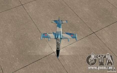 L-39 Albatross für GTA San Andreas Seitenansicht