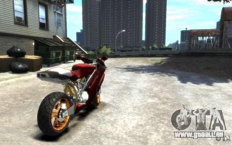Ducati 999R pour GTA 4 Vue arrière de la gauche