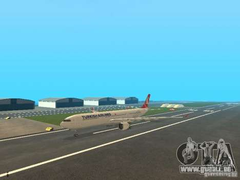 Airbus A330-300 Turkish Airlines pour GTA San Andreas