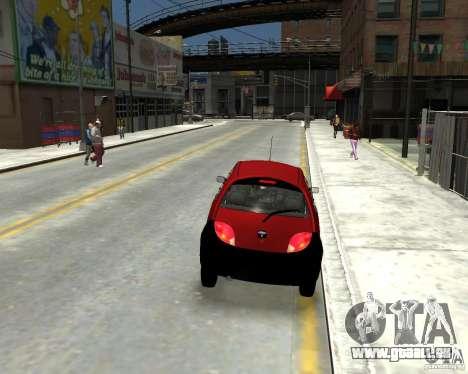 Ford Ka 1999 für GTA 4 hinten links Ansicht