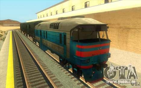 Un train reliant le jeu Half-Life 2 pour GTA San Andreas