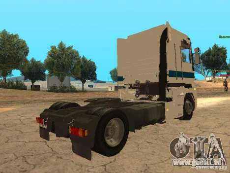 Renault Magnum Sommer Container für GTA San Andreas obere Ansicht