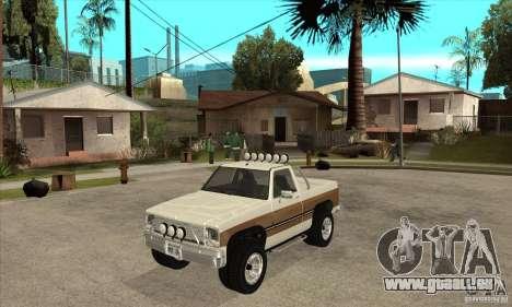 Ford Ranger pour GTA San Andreas