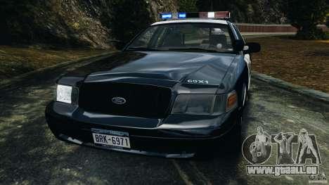 Ford Crown Victoria Police Interceptor 2003 LCPD für GTA 4 Seitenansicht
