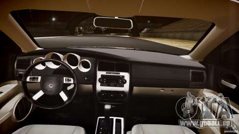 Dodge Charger RT Hemi 2007 Wh 1 für GTA 4 obere Ansicht