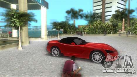 Dodge Viper SRT 10 Coupe für GTA Vice City rechten Ansicht