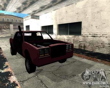 Derby Greenwood Killer für GTA San Andreas Rückansicht