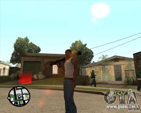 RiCkys Rocket Launcher pour GTA San Andreas troisième écran