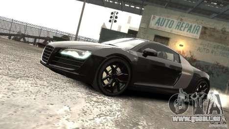 Audi R8 V10 2010 [EPM] pour GTA 4 est une vue de l'intérieur