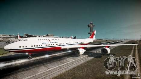 THY Air Plane pour GTA 4 est une gauche
