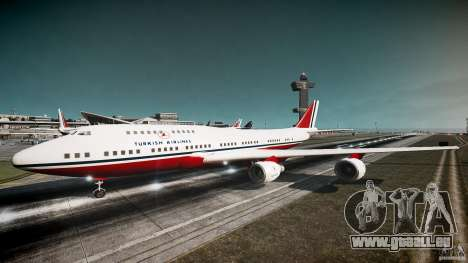 THY Air Plane für GTA 4 linke Ansicht