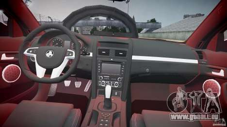 Holden Commodore (FBINOoSE) pour GTA 4 vue de dessus