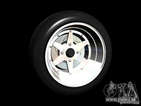 Old School Rims Pack pour GTA San Andreas