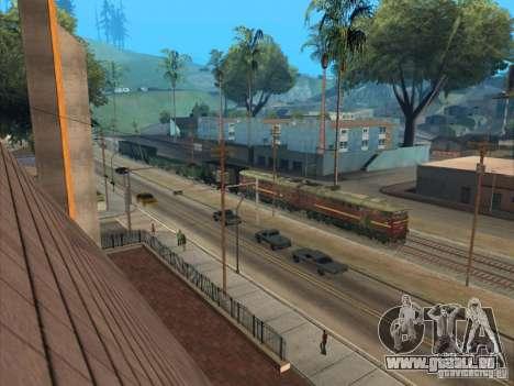 2te10u-0211 für GTA San Andreas Seitenansicht