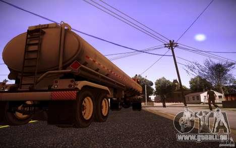 Anhänger Kenworth T600 für GTA San Andreas rechten Ansicht