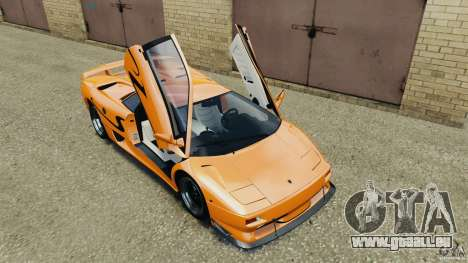 Lamborghini Diablo SV 1997 v4.0 [EPM] pour GTA 4 est une vue de dessous