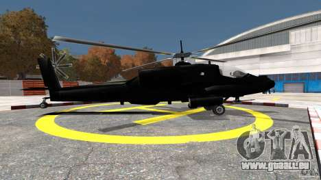Hunter für GTA 4 linke Ansicht