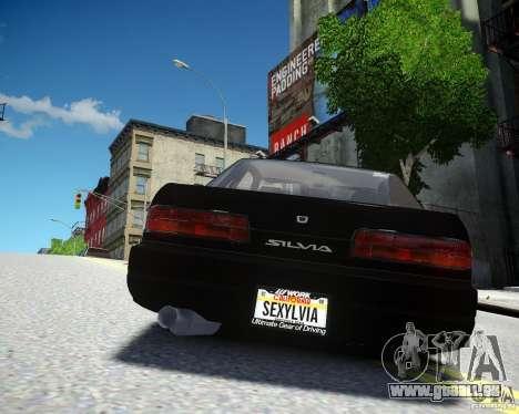 Nissan Silvia S13 für GTA 4 rechte Ansicht