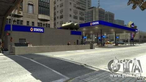 Statoil Petrol Station für GTA 4 dritte Screenshot