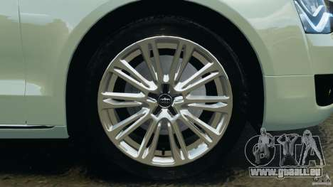Audi A8 Limo v1.2 für GTA 4 Innen