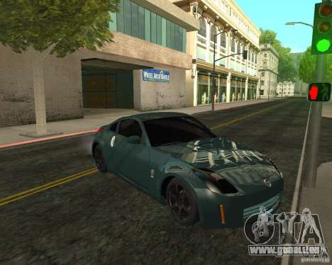 Nissan 350Z Tunable pour GTA San Andreas