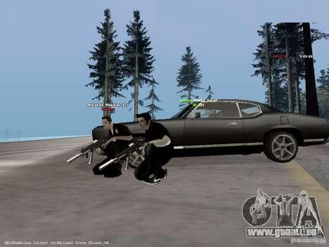 Black & White guns für GTA San Andreas zweiten Screenshot