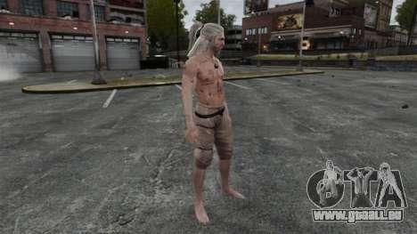 Geralt de Rivia v5 pour GTA 4 cinquième écran